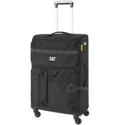 Caterpillar Cube Combat Visiflash średnia walizka na kółkach 67 cm CAT / czarna