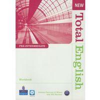 Książki do nauki języka, New Total English Pre-Intermedia Workbook Z Płytą Cd (opr. miękka)