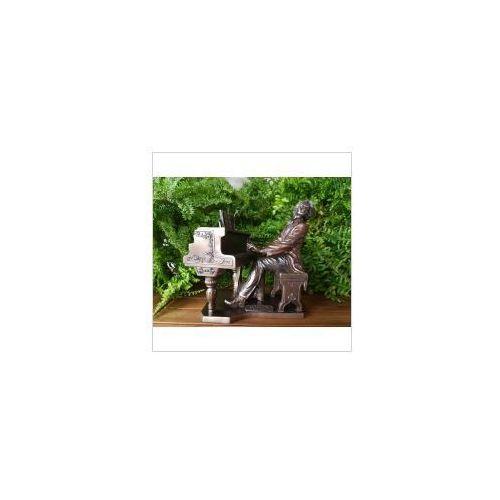 Rzeźby i figurki, FIGURKA - CHOPIN GRAJĄCY NA FORTEPIANIE - VERONESE (WU75452A4)