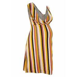 Sukienka ciążowa i do karmienia LENZING™ ECOVERO™ bonprix w kolorowe paski