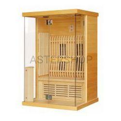 LUNA Sauna na podczerwień 2 osobowa 123,6x103,6x200 cm H30330