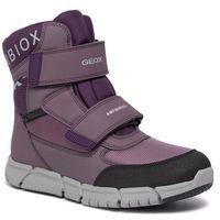Kozaki dziecięce, Śniegowce GEOX - B Flexyper G.B Abx A J94APA 0FU54 C8UG8 D Lt Prune/Purple