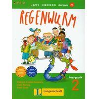 Książki do nauki języka, Regenwurm 2 podręcznikz płytą CD (opr. miękka)