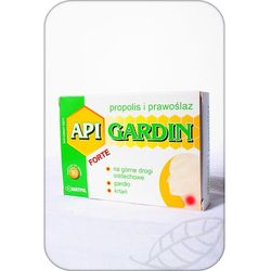 API GARDIN FORTE Propolis i Prawoślaz past.do ssania - 16 pastyl.