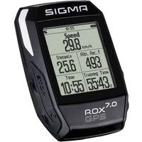 Liczniki rowerowe, Sigma licznik ROX GPS 7.0 czarny - BEZPŁATNY ODBIÓR: WROCŁAW!