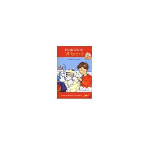 Książki dla dzieci, Pranie u babci Wiktorii (opr. miękka)