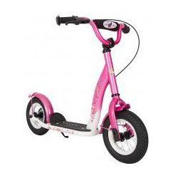 """Hulajnoga dla dzieci, pompowane koła 10"""" BikeStar, kolor różowy"""