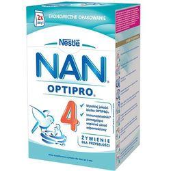 NESTLE NAN OPTIPRO 4 800g (2x400g) Mleko następne z B.Lactis dla dzieci powyżej 2 roku karton