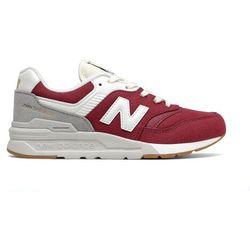 New Balance Sneakersy GR997HHT Bordowy