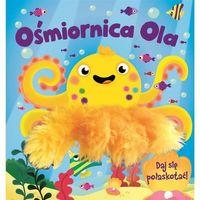 Książki dla dzieci, Ośmiornica Ola - pacynka - Opracowanie zbiorowe (opr. twarda)