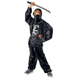Strój Ninja Czarny 110/116