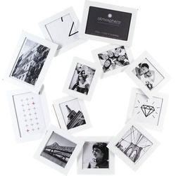 Ramka na 12 zdjęć, zdjęcia - multirama, w kształce SPIRALI 60 x 58 cm