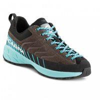 Trekking, Scarpa Mescalito Lace Shoes Kids, titanium/green blue EU 35 2021 Buty turystyczne