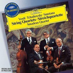 VERDI, TCHAIKOVSKY, SMETANA:STRING QUARTETS (ORIGINALS) - Amadeus Quartet (Płyta CD)