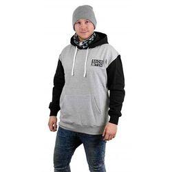 bluza SNOWBITCH - O.G. Patch Hoody Gray Black Black-Gray (BLACK-GRAY ) rozmiar: L