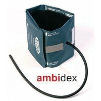 Pozostałe artykuły medyczne, Mankiet AMBIDEX jednoprzewodowy 34-46cm duży dla dorosłych
