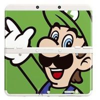 Akcesoria Nintendo 3DS, Nakładka NINTENDO na konsolę NEW 3DS (Luigi)
