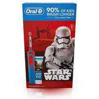 Szczoteczki do zębów, Szczoteczka rotacyjna ORAL-B D12 Kids Star Wars + Pasta do zębów