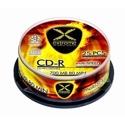 Płyty Extreme CD-R 2035 700MB 52x - Cake - 25szt.