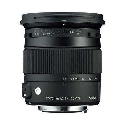 Obiektywy fotograficzne, Obiektyw SIGMA Digital C 17-70/2.8-4 DC Macro OS HSM Nikon