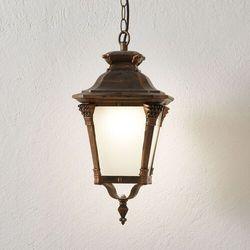 Nostalgiczna zewnętrzna lampa wisząca VIVIANA