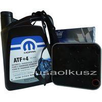 Oleje przekładniowe, Olej MOPAR ATF+4 oraz filtr automatycznej skrzyni 4SPD Chrysler Pacifica