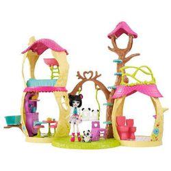 ENCHANTIMALS Barbie leśny domek zestaw