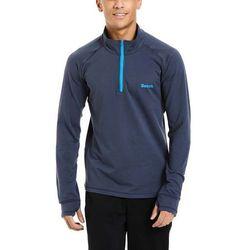 koszulka BENCH - Snow Zip Neck L/S Dark Navy Blue (NY022) rozmiar: M
