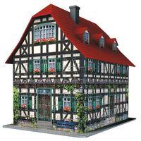 Planszówki, RAVEN. 216 EL 3D Średniowieczny Dom - BEZPŁATNY ODBIÓR: WROCŁAW!