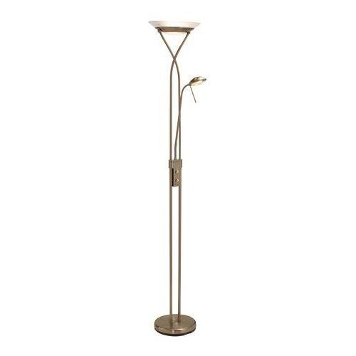 Lampy stojące, BOSTON patyna 112247 - lampa podłogowa Markslojd