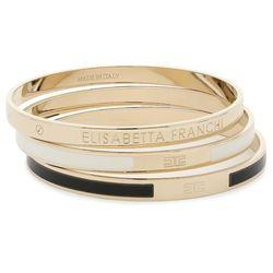 Zestaw 3 bransoletek ELISABETTA FRANCHI - BC-1MC-01E2-V199 Nero/Burro 685