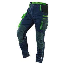 Spodnie robocze PREMIUM 62% bawełna 35% poliester 3% elastan L 81-226-L