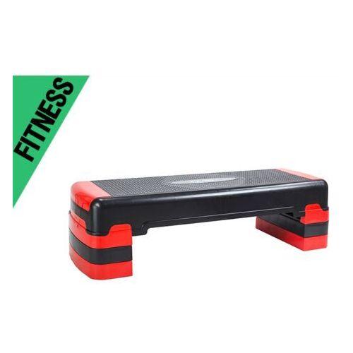 Bieżnie, RED / WHITE / BLACK STEP DO AEROBIKU AS005