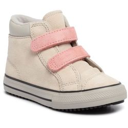 Sneakersy CONVERSE - Ctas 2V Pc Boot Hi 765166C Natural Ivory/Coastal Pink
