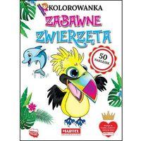 Literatura młodzieżowa, Zabawne zwierzęta. kolorowanki z naklejkami - klaudia jędrysiak