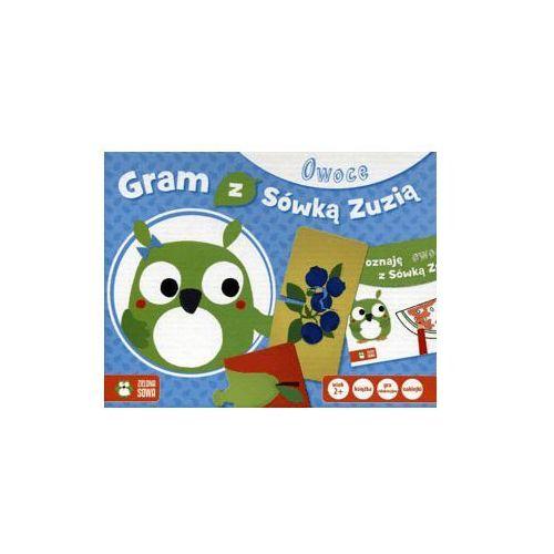 Gry dla dzieci, Gram z sówką Zuzią - Owoce