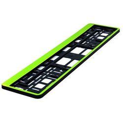 Ramka pod tablicę rejestracyjną HP Zielona 1 szt - Zielony