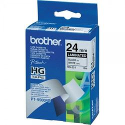 Brother etykiety 24 mm x 15,4 m HG251, PT9500PC