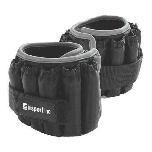 Hantle i obciążniki, Obciążenie regulowane na nogi kostki inSPORTline Ankler X 2x2,25 kg