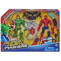 AVENGERS HASBRO SUPER HERO MASHERS DWUPAK Z BRONIĄ A8159- PRODUKT W MAGAZYNIE! EKSPRESOWA WYSYŁKA!