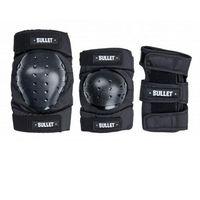 Ochraniacze na ciało, ochraniacze BULLET - Standard Combo Adult Black (BLACK) rozmiar: L