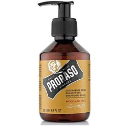 Proraso Wood and Spice szampon do brody (Soften and Smooth) 200 ml