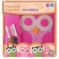 Kreatywne dla dzieci, Filcowa torebka sowa różowa