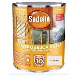 SADOLIN EXTRA- lakierobajca do drewna, biała kremowa, 5l