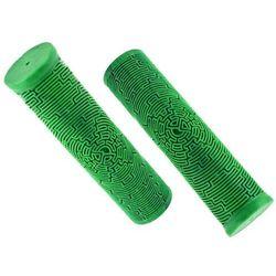 Chwyty kierownicy Dartmoor Maze Lite 125mm, nakładane,forest green, jasno zielone