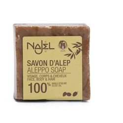 Najel Mydło Aleppo 100% Oliwkowe (Pure Olive) 170g