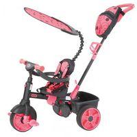 Rowerki trójkołowe, Little Tikes Trójkołowy rowerek 4w1 Deluxe, różowy/szary