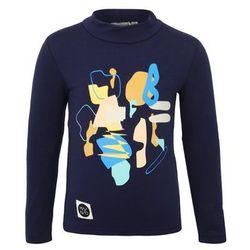 Mainio ZGREEN BACKSTAGE CHILDREN'S TURTLE NECK Bluzka z długim rękawem dark blue