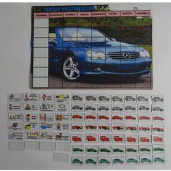 Magnetyczna tablica motywacyjna dla chłopców - samochody Tablica motywacyjna z autami