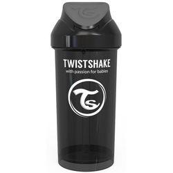 Twistshake Butelka ze słomką 360 ml 12 + m Czarny - BEZPŁATNY ODBIÓR: WROCŁAW!